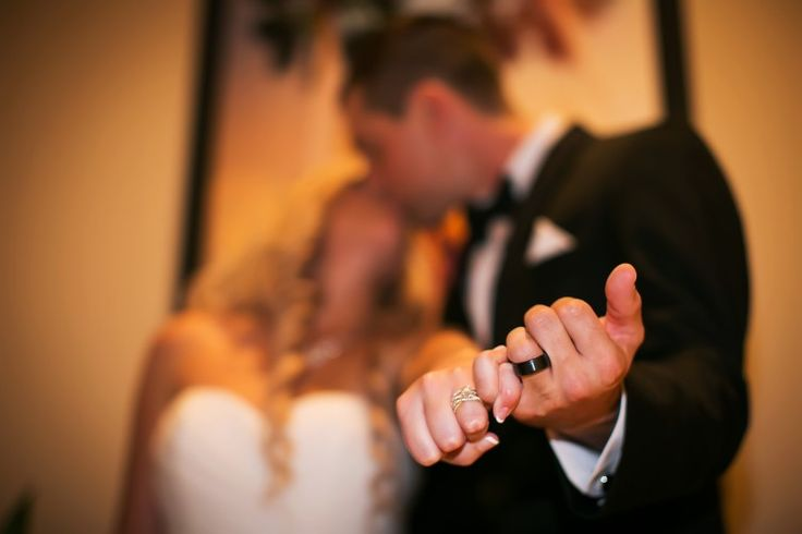 Must-have wedding photo idea: Pinking swearing with your rings after the ceremony (Limelight Photography)
