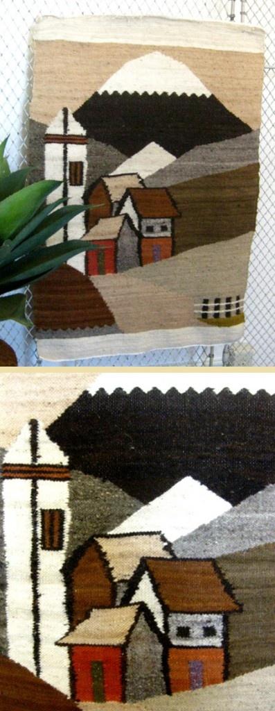 Vintage Village Tapestry