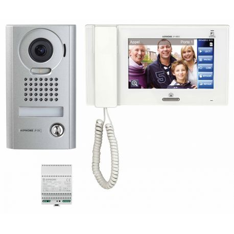 Aiphone kit interphone vidéo en saillie JPS4AEDV - 130318