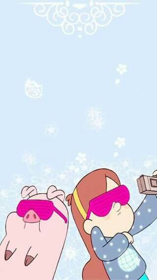Mabel y pato