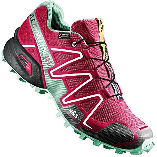 Salomon Speedcross 3 GTX W Damen-Laufschuh 373219 Lotus Pink/Lucite Green/Black Gr. 37 1/3 (UK 4,5) - http://on-line-kaufen.de/salomon/37-1-3-eu-salomon-speedcross-3-gtx-damen-2