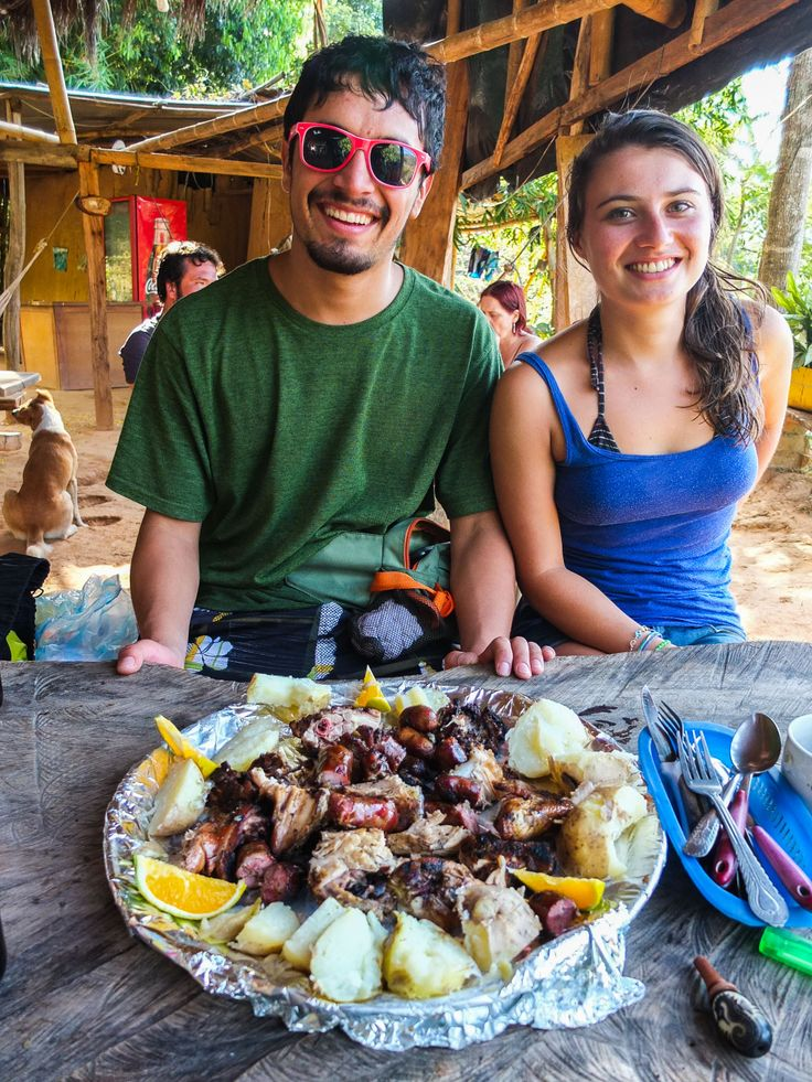 You will get to meet the locals and try the local food.