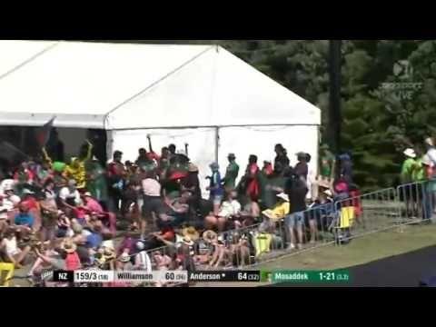 Corey Anderson 94 Run In 41 Bowl 10 Six vs Bangladesh 3rd T20 2017