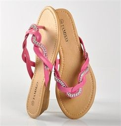 Chaussures FEMME - TONGS ROSE FUCHSIA - TAMIKO - Chaussures Desmazieres