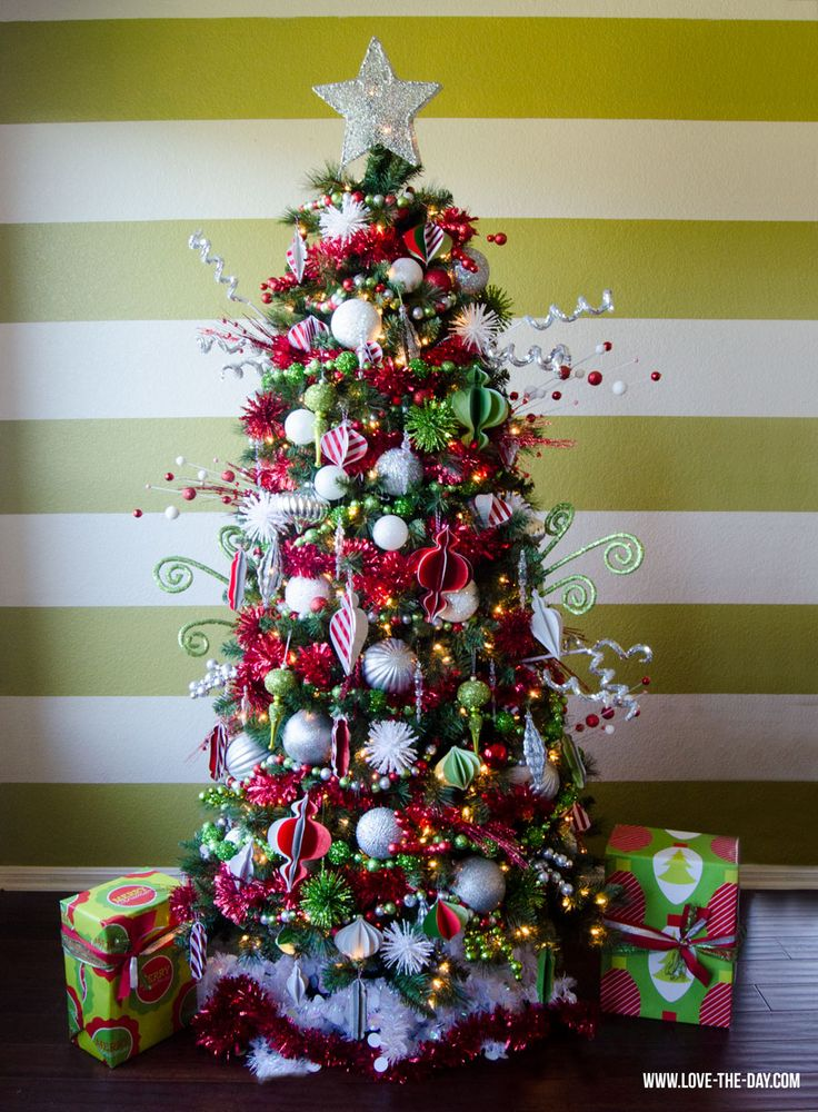 Whimsical Christmas Decorating Ideas | Whimsical Christmas Tree Decorating Ideas:: Michaels Makers