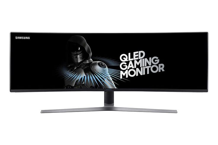 The Samsung QLED Curved Gaming Monitor Has a 144Hz Refresh Rate