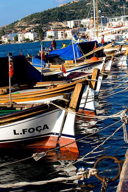 Foca, Izmir, Turkey by Serim