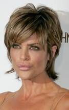 back view of lisa rinna's hair  | Lisa rinna hairstyle