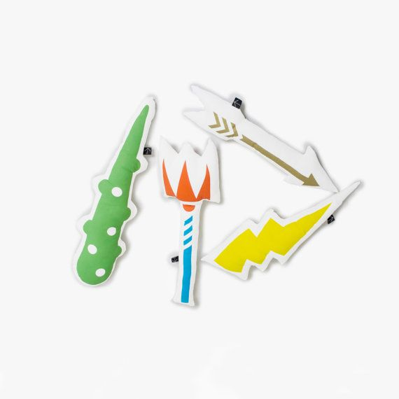 Pillow Fight shaped pillow weapons Kids Mythology by Heavy Baggage Design / Greek Design and Making