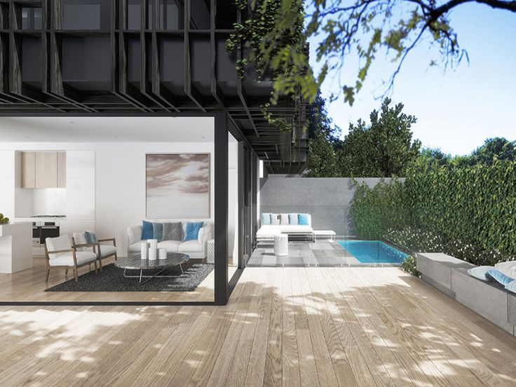 Outdoor living design with deck from a real Australian home - Outdoor Living photo 1587997