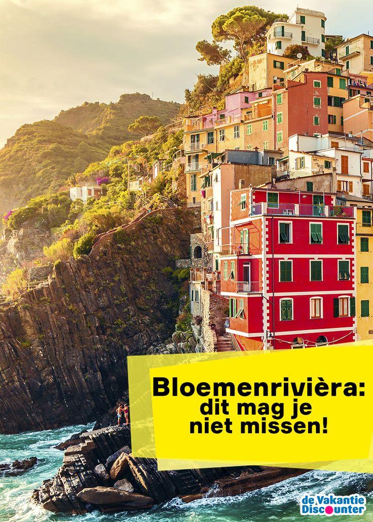 De Bloemenrivièra is de prachtige, groene kuststrook van Italië die van Genua tot aan Frankrijk loopt. Aan de ene kant vind je er vooral een woest landschap met rotsen en kiezelstranden en vissersdorpjes tussen de steile kliffen en bergen, terwijl aan de andere kant vooral geweldige palmbomen, rozen en geraniums te zien zijn. Maar de Bloemenrivièra biedt meer…