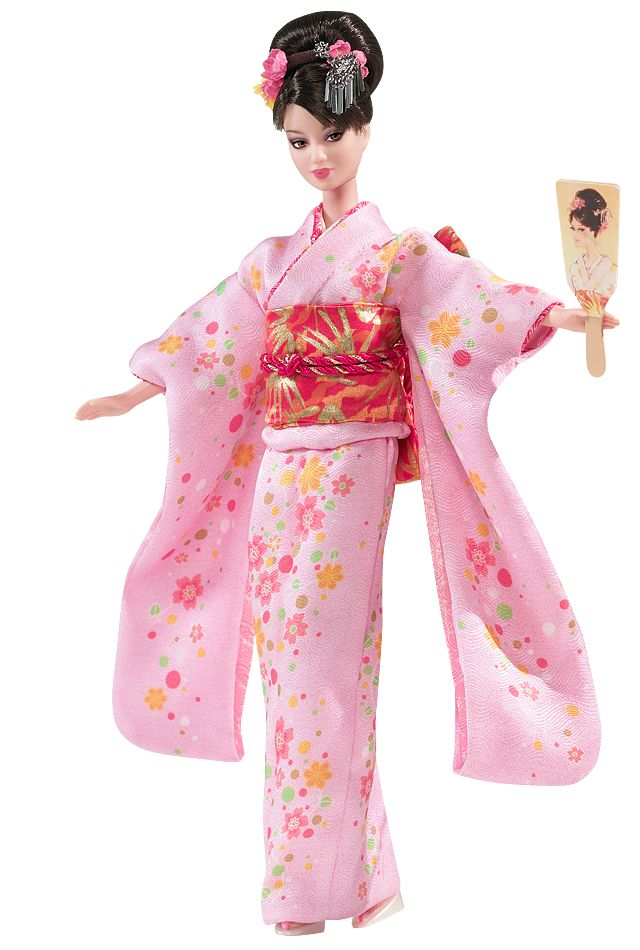 Happy New Year™ Barbie®  I love this!  It makes me think of New Years when I lived in Japan.  : D