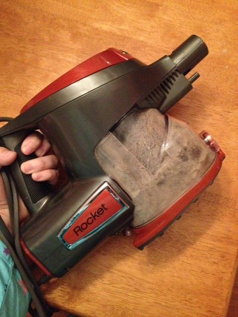 Shark Rocket vacuum review at playdatecrashers.com! That photo is what the reviewer got in a recently-vacuumed room the first time she used the Rocket. Ew!