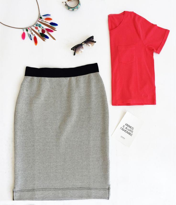 Kleurrijk, stijlvol en zomers! #summer #fashion #skirt #colours #steegenga