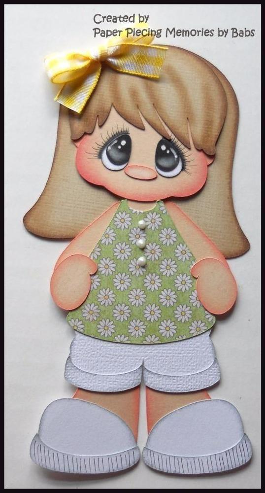 Girl Premade Paper Piecing Die Cut Embellishment for Scrapbook Page by Babs G3   Artesanato, Scrapbooking e artesanato em papel, Peças e páginas pré-montadas de scrapbooking   eBay!