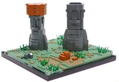 Lego Easter Island