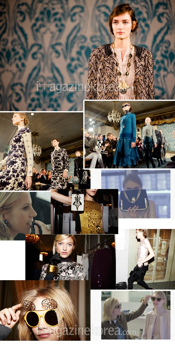 Behind the scenes at the launch of Tori Burch's fall collection in New York