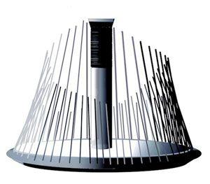 WATERPHONE Instrumento acústico musical atonal que consiste en un recipiente resonador de acero inoxidable o sartén con un cuello de bronce cilíndrico con varillas de diferentes longitudes y diámetros en todo el borde de la taza. El resonador puede contener una pequeña cantidad de agua dando el nombre en inglés de waterphone, dándole un sonido etéreo vibrante que ha aparecido en bandas sonoras de películas, álbumes de música y actuaciones en directo. El instrumento fue inventado y…