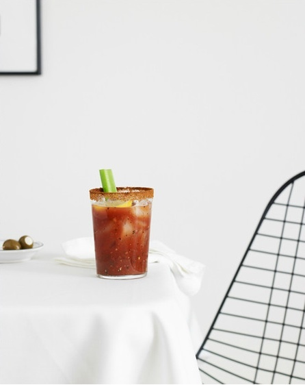 yes. Bloody Mary by Carrie Purcell: Mmmm Bloody, Glasses, Yummy Food, Food Yummy, Carrie Purcell, Carrie Yummy, Bloody Mary, Mornings Cocktails