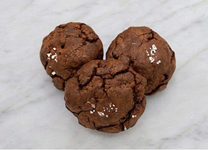 Cookies de trufa de chocolate y sal para #Mycook http://www.mycook.es/cocina/receta/cookies-de-trufa-de-chocolate-y-sal