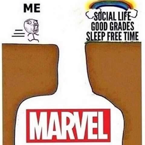 Well I prefer Marvel.