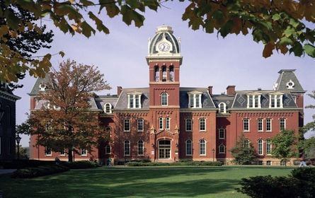WVU is a college  not too far from home and offers many opportunities.