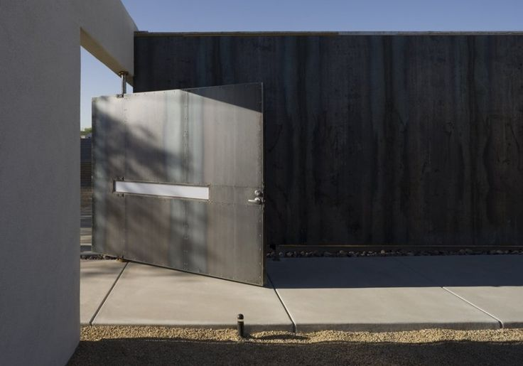 The Six Courtyard Houses by Ibarra Rosano Design Architects