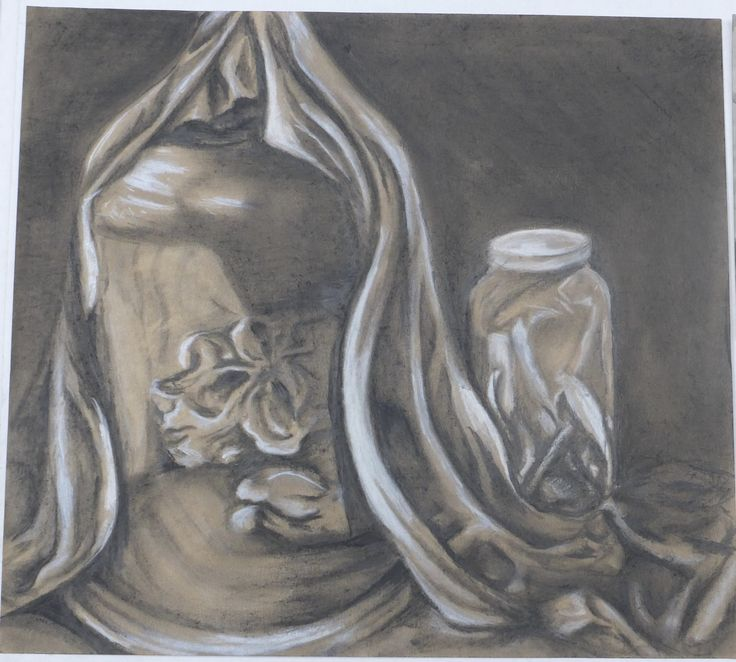 Caelyn Eades, Untitled, Charcoal and pencil
