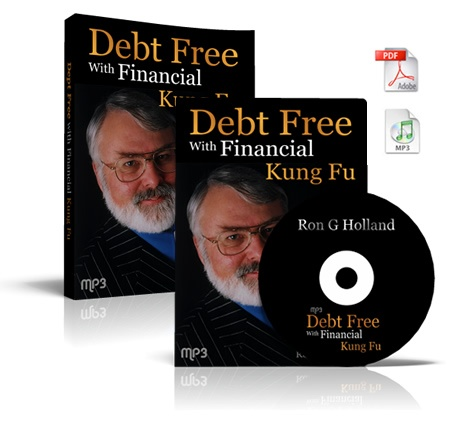 """""""I suggest you write down on a large sheet of paper the heading: """"IDEAS FOR INCREASING MY PROFIT"""", then keep adding your ideas to this sheet as they come to you. Review and implement your ideas regularly. Act! Act! Act!"""" (http://www.ronhollanddirect.com/debtfree/#)"""