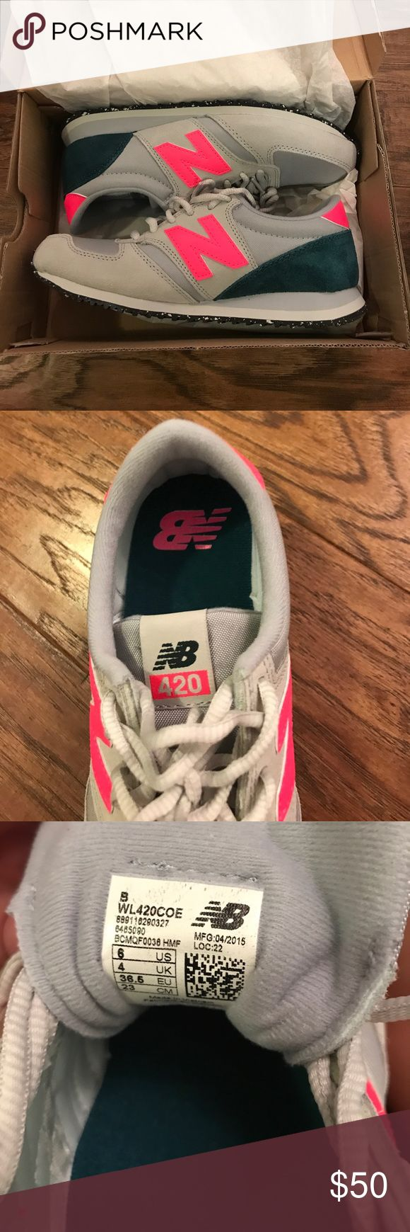 New balance 420 lifestyle shoes Never worn NB 420 lifestyle shoes in a women's size 6 New Balance Shoes Sneakers