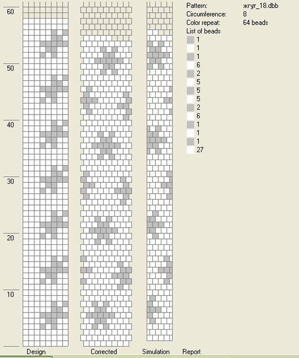 АртБисер - Схемы для жгутов (по мастер-классу)