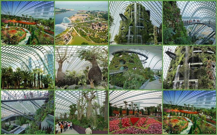 Parque con árboles de metal en Singapur-001