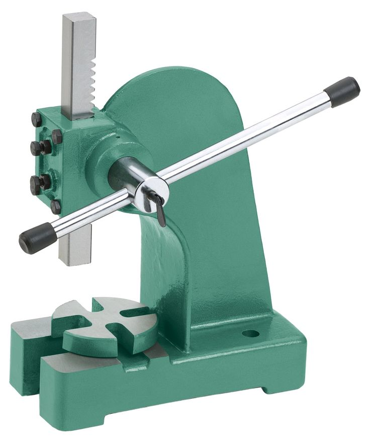 Grizzly G4018 Arbor Press 1 Ton Coin Ring Tools