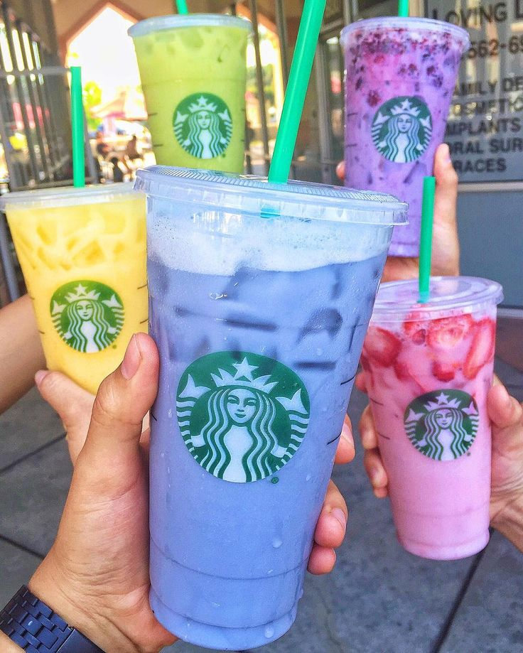 "Starbucks' Colorful ""Secret"" Drinks Now Span the Tasty Rainbow 
