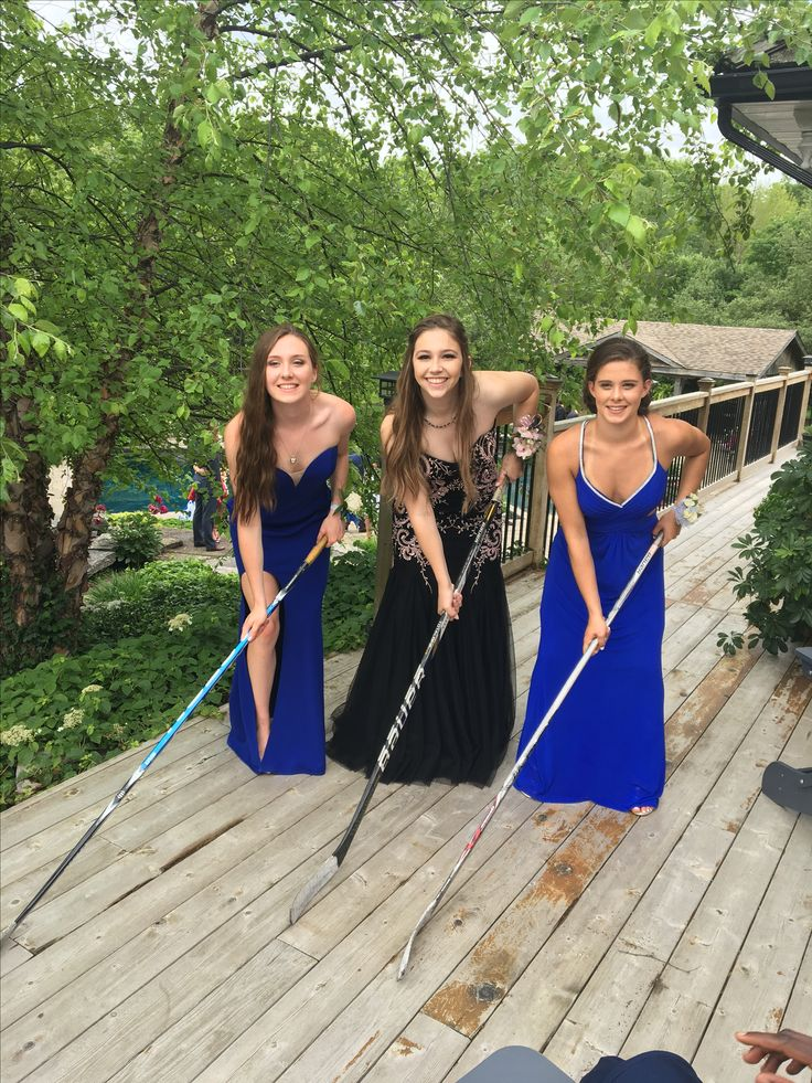 Canadian Hockey Girls do Prom! 🏒