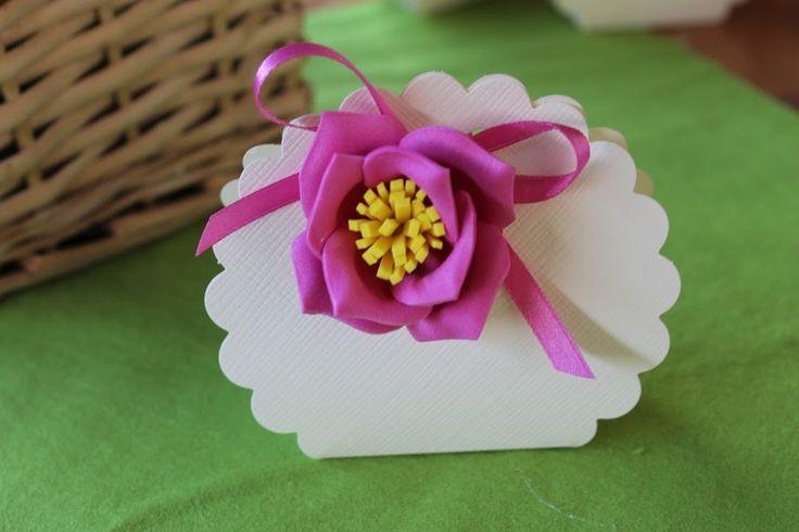 Fommy ideas fiore rosa bomboniere #Cabif #Kreare