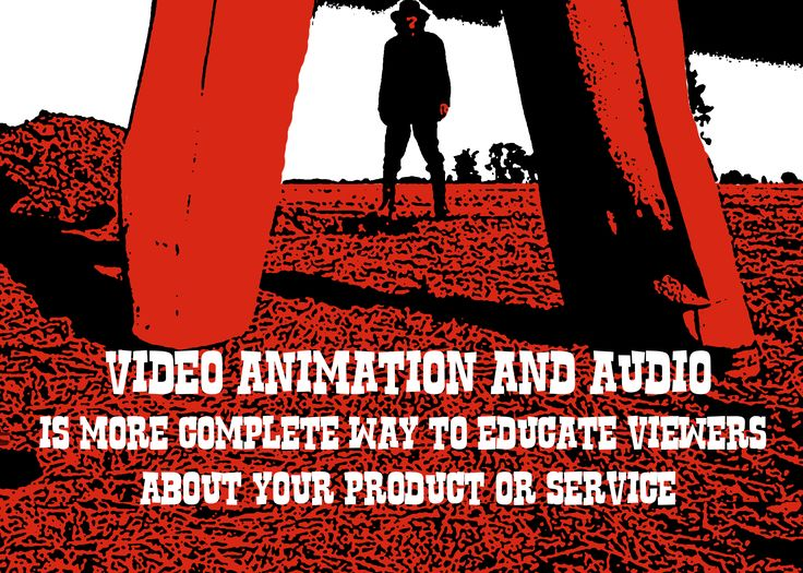 Video animation and audio is more complete way to educate viewers about your product or service.