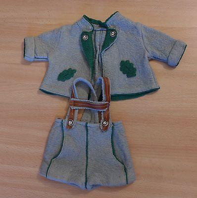 50er-Jahre-Trachtenanzug-fuer-Schildkroet-Puppe-Hans-Puppenkleidung-alte-Puppe