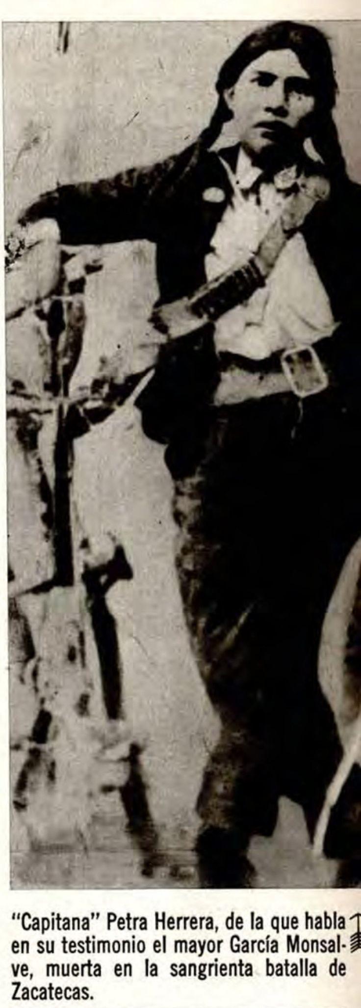 Yüzbaşı Petra HERRERA...Meksika Devrimi 1910...