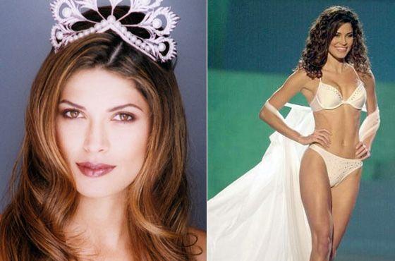 2002 Mas Oxana Fedorova, da Rússia foi destronada e a vice, Justine Pasek, do Panamá, assumiu o posto.