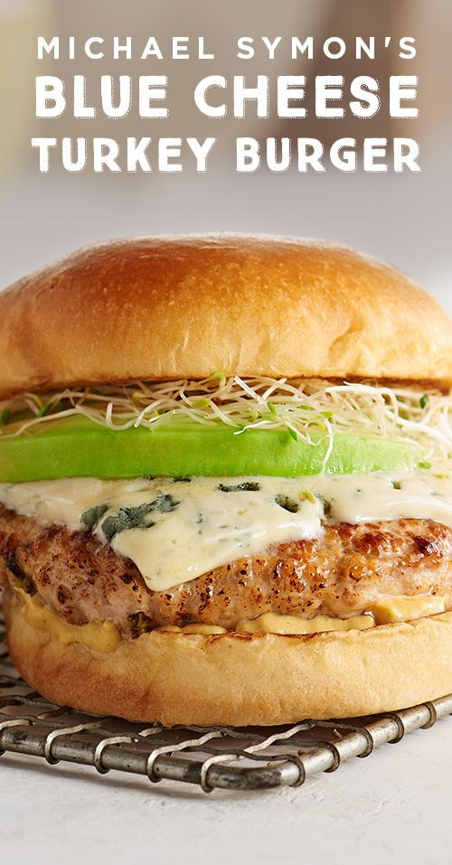 Finally a turkey burger that tastes better at home than it does at the restaurant! Blue cheese, avocado, sprouts and Dijon mustard are the stars of this flavorful, juicy turkey burger recipe from Michael Symon. Grill your way to a better burger here!