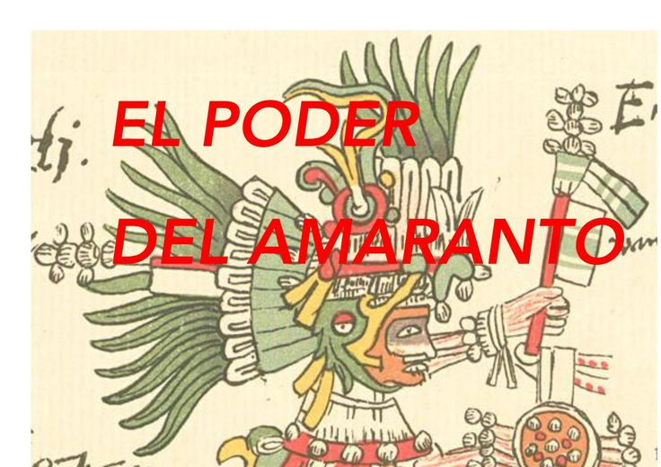EL PODER DEL AMARANTO THE POWER OF AMARANTH