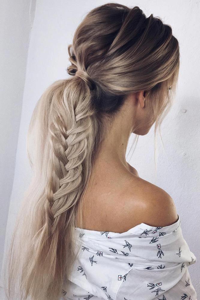 Cute Updo Hairstyles For Prom Braidhairstylesforlonghair Spring Hairstyles Braided Ponytail Hairstyles Wedding Hairstyles For Long Hair