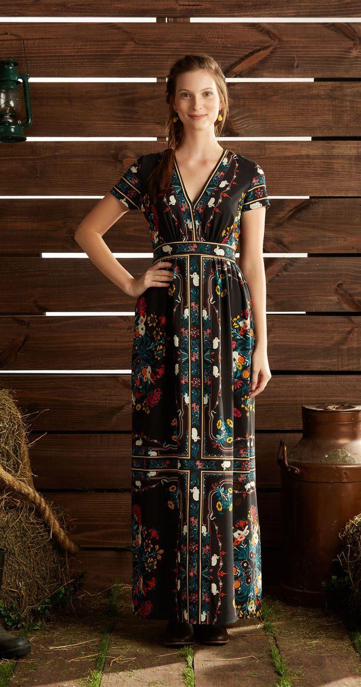 Só na Antix Store você encontra Vestido Longo Come Cenoura com exclusividade na internet