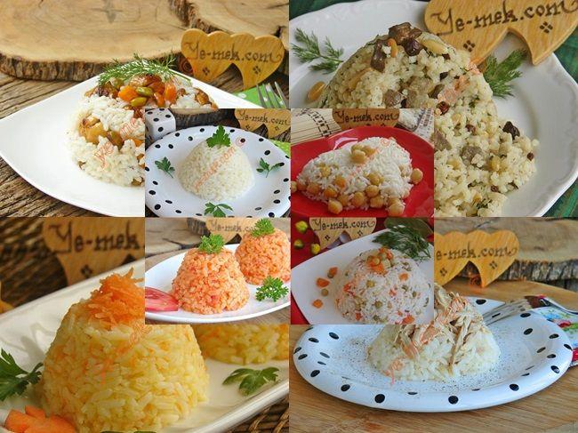Pirinç Pilavı Nasıl Yapılır, Değişik Pilav Tarifleri nasıl yapılır? Kolayca yapacağınız Pirinç Pilavı Nasıl Yapılır, Değişik Pilav Tarifleri tarifini adım adım