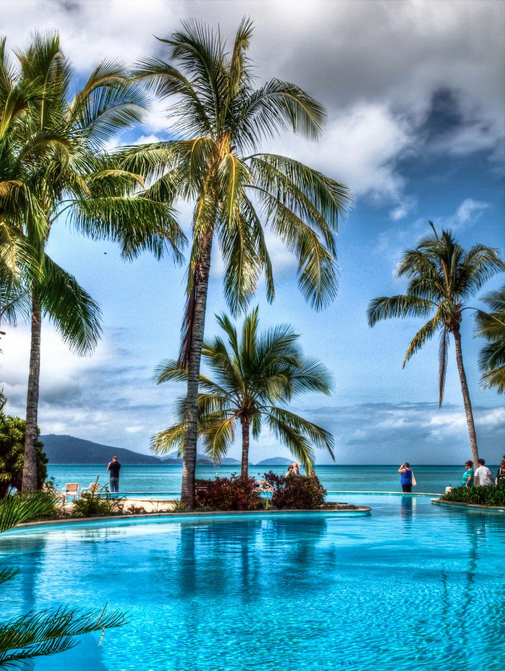 Hamilton Island, The Whitsundays, QLD. For lovers of golf and natural, tropical beauty.
