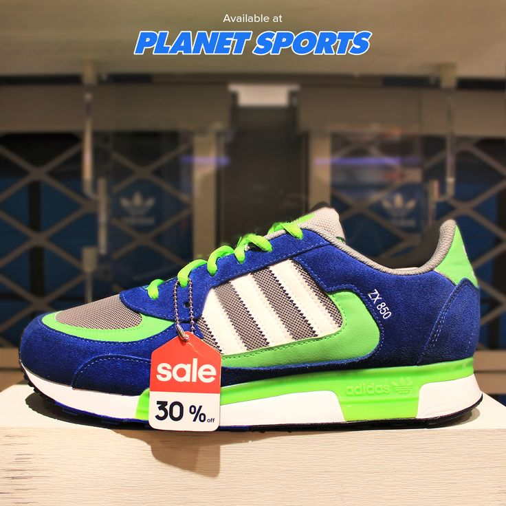Adidas ZX 850 dengan tampilan retro dan bahan suede untuk kamu tetap tampil keren. Discount 30%→ Rp 839.000 #adidas #casual #casualshoes #zx850 #planetsports