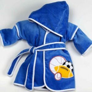 46 best baby baby images on pinterest baby baby baby room and 4995 this personalized boys bathrobe features an all sports theme the hooded robe is perfect negle Gallery