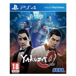 Yakuza 0  PS4 Cover Art