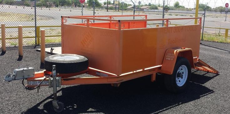 2011 BRI-MAR All Steel 5000lb GVWR Trailer For Sale In Phoenix - - - All Steel - - Floor Tie Downs - - Rail Tie Downs - - Surge Brakes - - Spare Tire On Carrier - - Built For Home Depot Rental - - ONLY $3,600 - - HD TRUCKS & EQUIP LLC - - Call (602) 510-5444